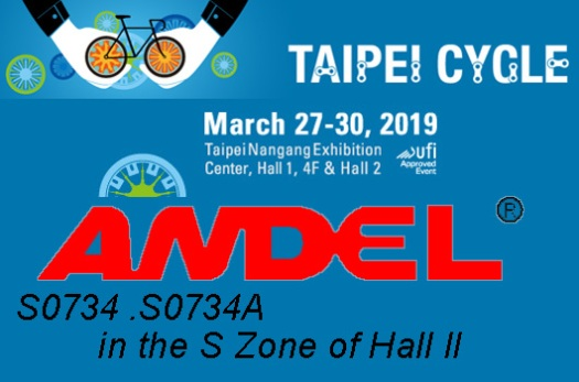 ANDEL in 2019 Taipei Cycle