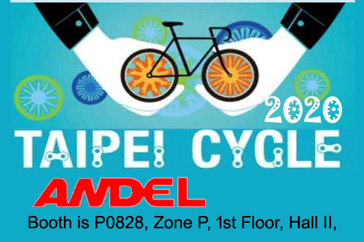 ANDEL in 2020 Taipei Cycle Show